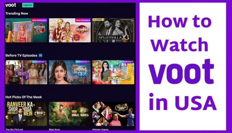 Voot in USA